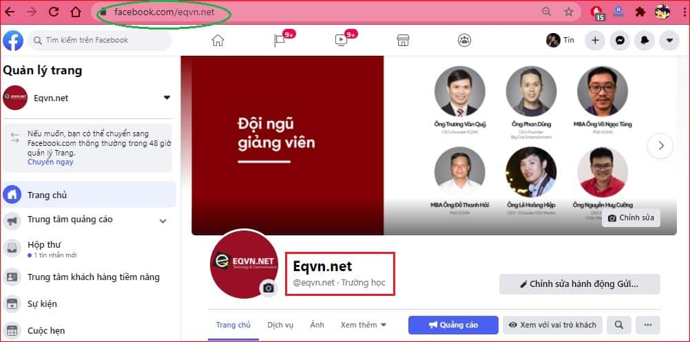 Username EQVN