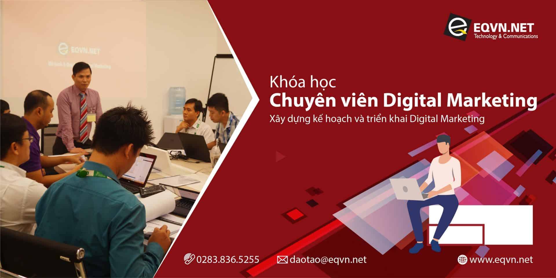 EQVN Khóa học chuyên viên Digital Marketing