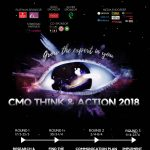 Poster Cuộc thi CMO Think & Action 2018