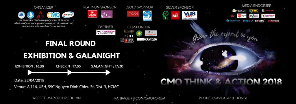 Chung kết cuộc thi CMO THINK AND ACTION 2018