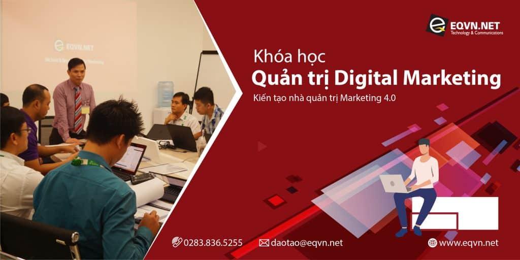 EQVN Quản trị Digital Marketing Chuyển đổi số