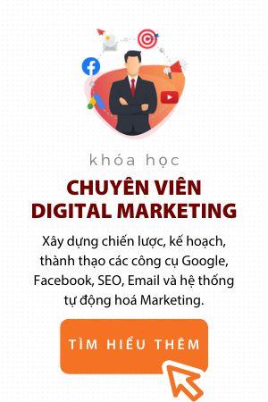 Khóa chuyên viên Digital Marketing trung tâm đào tạo eqvn