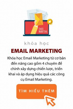 Khóa học Email Marketing Trung tâm đào tạo Digital Marketing