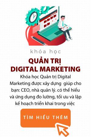 Khóa quản trị Digital Marketing Trung tâm đào tạo EQVn