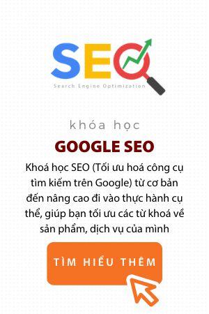 Khóa học Google SEO trung tâm đào tạo eqvn