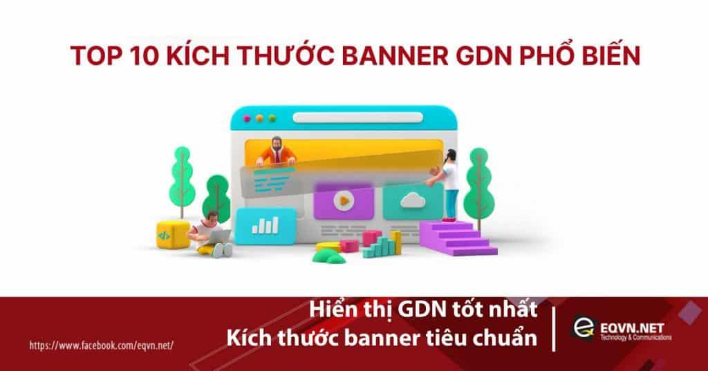 Hiển thị GDN tốt nhất: kích thước banner tiêu chuẩn