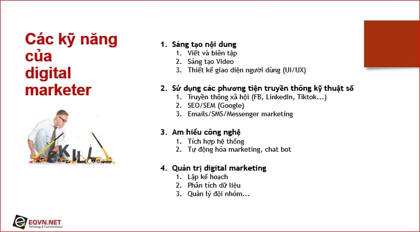 Kỹ năng Digital marketing