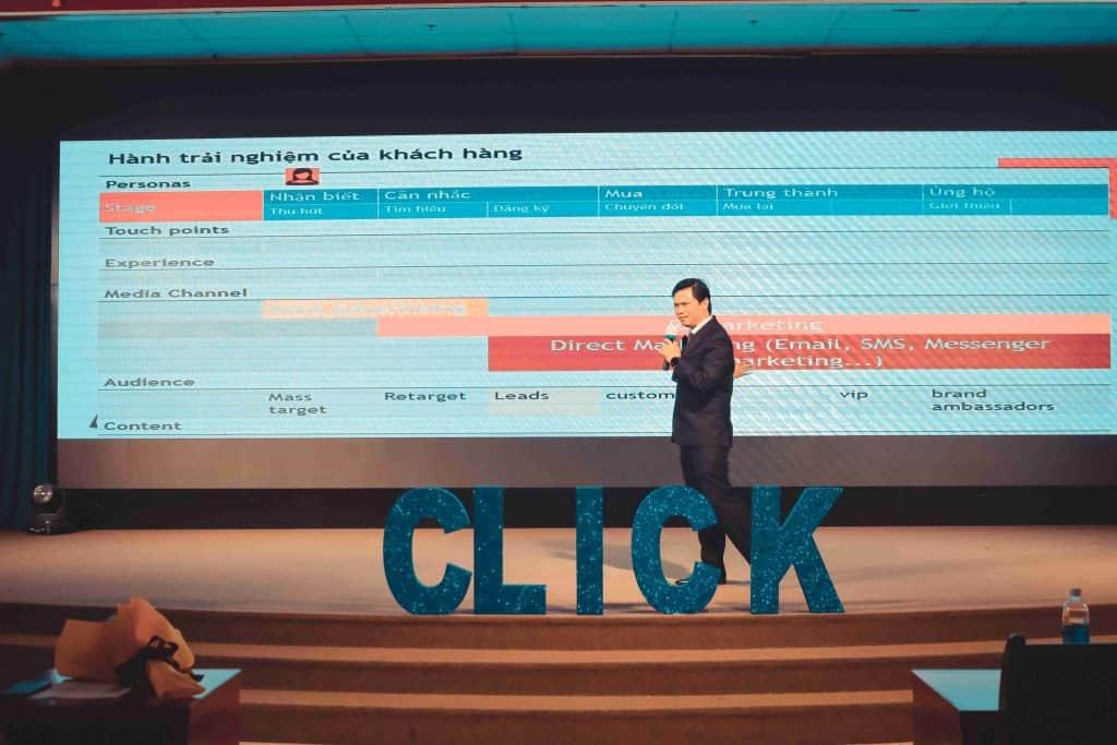 Trương Văn Quý hội thảo marketer click 2020