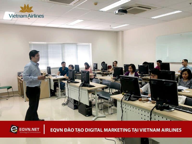 Đào tạo Inhouse Digital Marketing cho VN Airlines