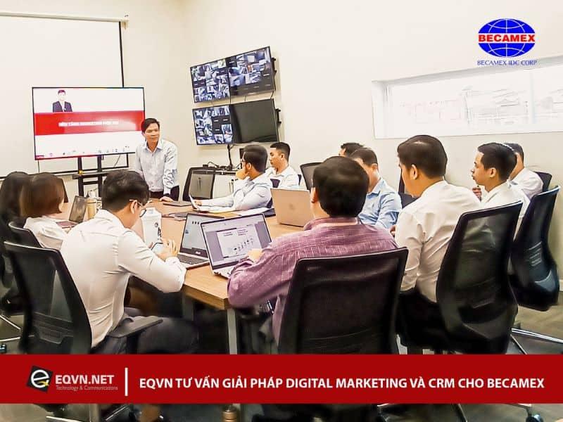 Đào tạo Inhouse Digital Marketing cho Becamex IDC Corp
