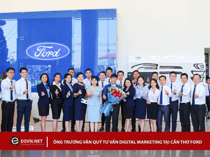 Đào tạo Inhouse Digital Marketing cho Ford Cần Thơ
