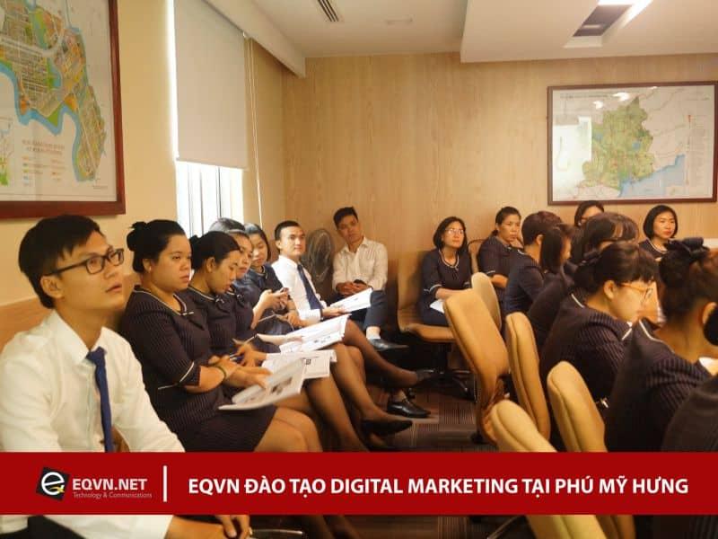 Đào tạo Inhouse Digital Marketing cho Phú Mỹ Hưng