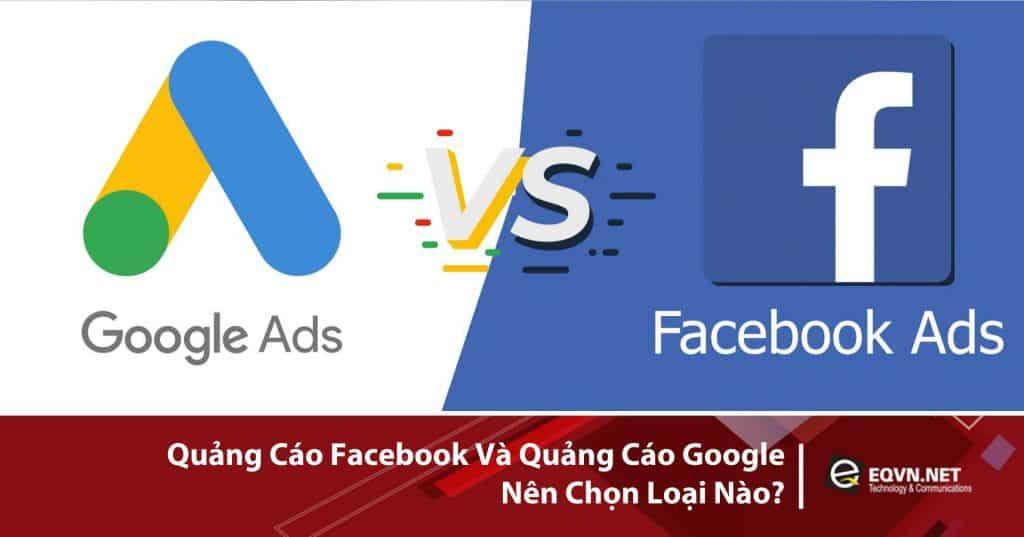 facebook ads và google ads
