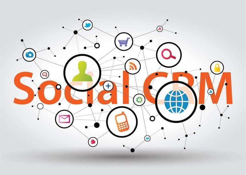 CRM social media