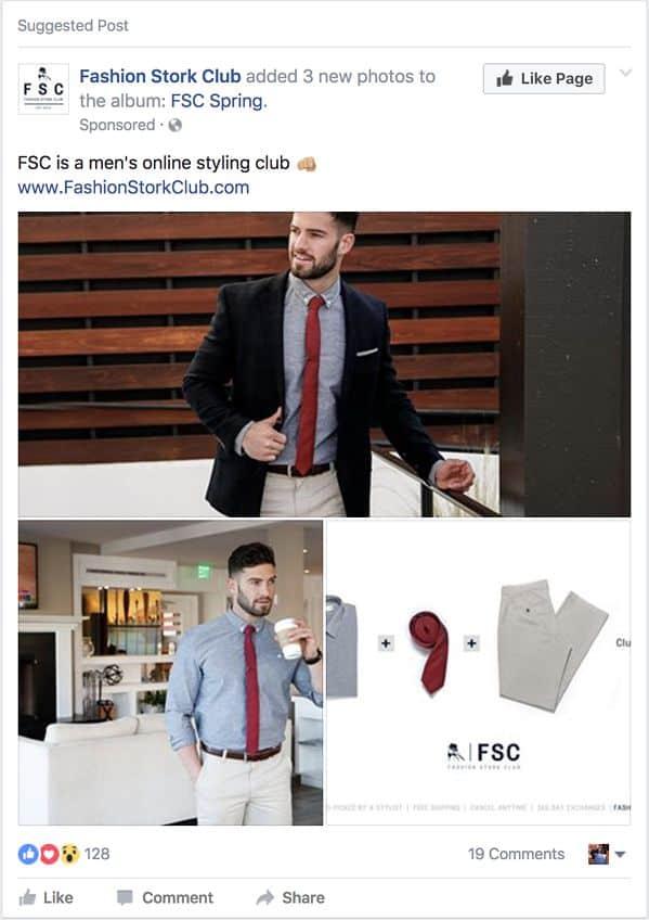 hình thức quảng cáo tương tác facebook