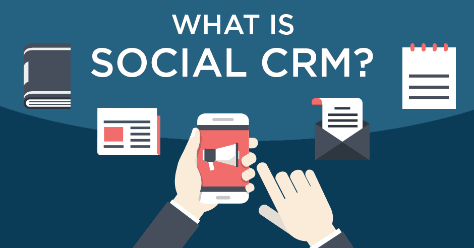 what is social CRM
