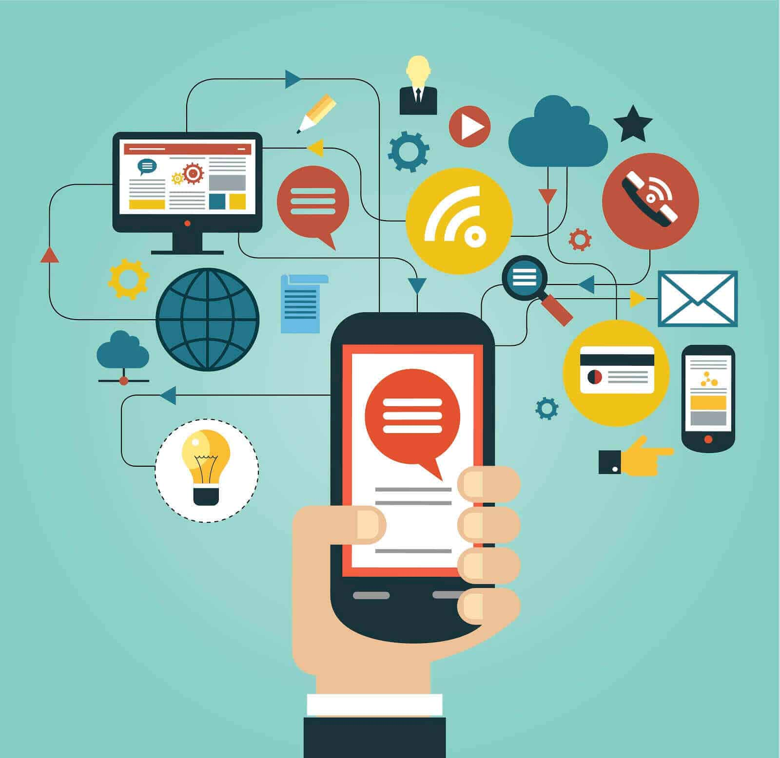 mobile crm app