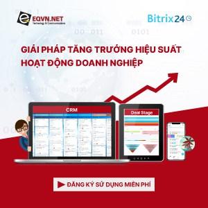 Phần mềm Bitrix24 CRM quản trị doanh nghiệp