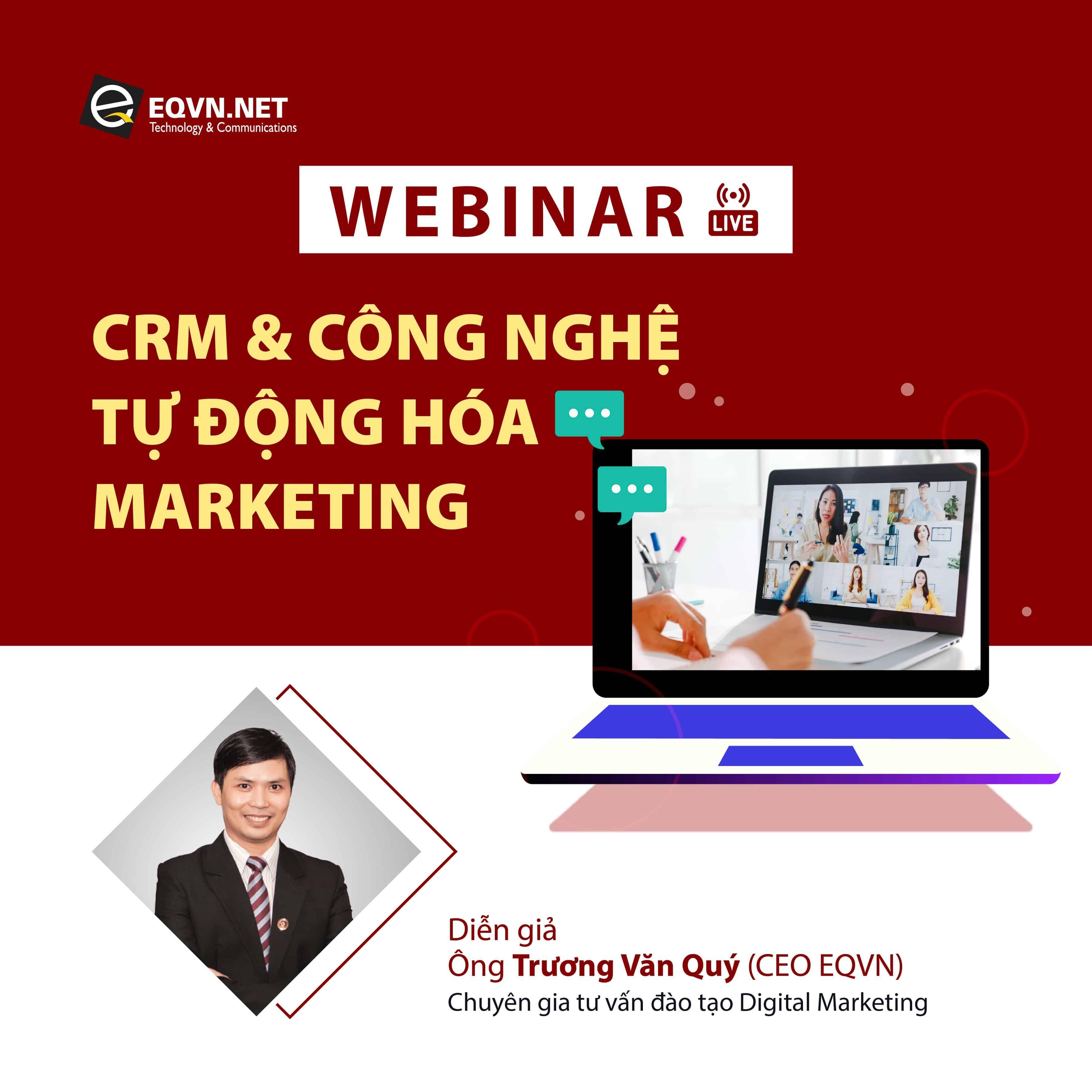 Tọa đàm CRM và công nghệ tự động hóa Marketing