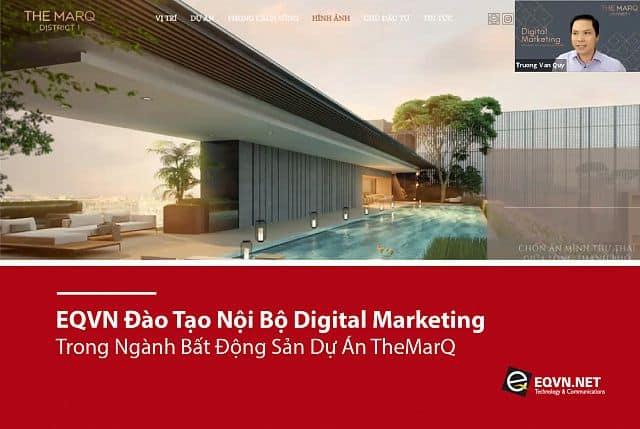 EQVN Đào tạo nội bộ Digital Marketing MarQ