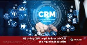 Hệ thống CRM là gì? Sơ lược về CRM cho người mới bắt đầu