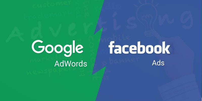 Quảng cáo Google và quảng cáo Facebook Bạn nên sử dụng loại nào