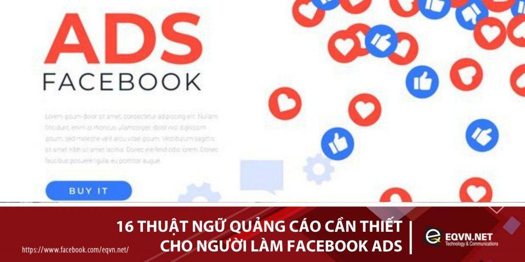 thuậ ngữ quảng cáo FB, từ chuyên môn quảng cáo FB